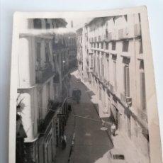 Fotografía antigua: VALENCIA. CALLE SANTA TERESA. 1955. LABORATORIO ESCUDER.. Lote 247991370