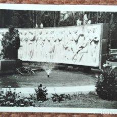 Fotografia antiga: VALENCIA - MONUMENTO AL MAESTRO SERRANO - LOTE 2 FOTOS. Lote 248136715