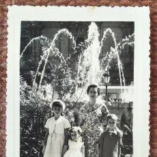 Fotografia antiga: VALENCIA - FAMILIA - FOTO: C. SEVILLANO. Lote 248415100