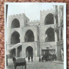 Fotografia antica: VALENCIA .- TORRES DE SERRANO - TRANVIA. Lote 249338985