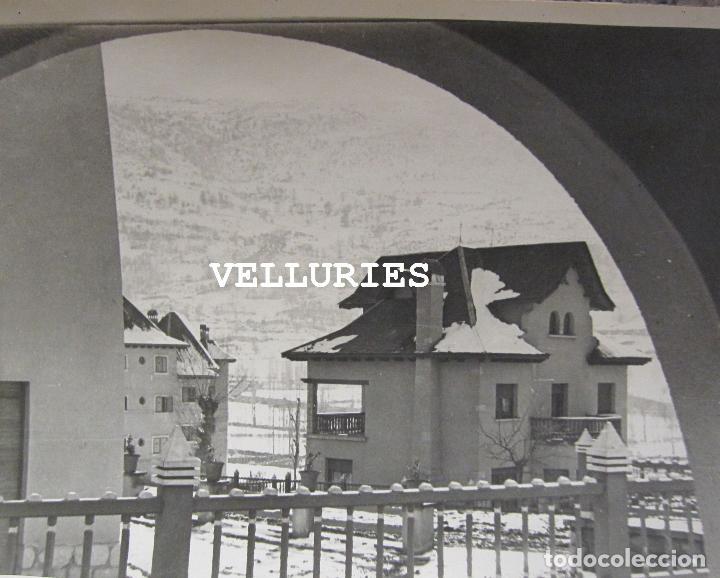 Fotografía antigua: IMPORTANTE REPORTAJE FOTOGRAFICO DE LA COLONIA ENHER. PONT DE SUERT. 13 GRANDES FOTOGRAFIAS - Foto 11 - 252780935