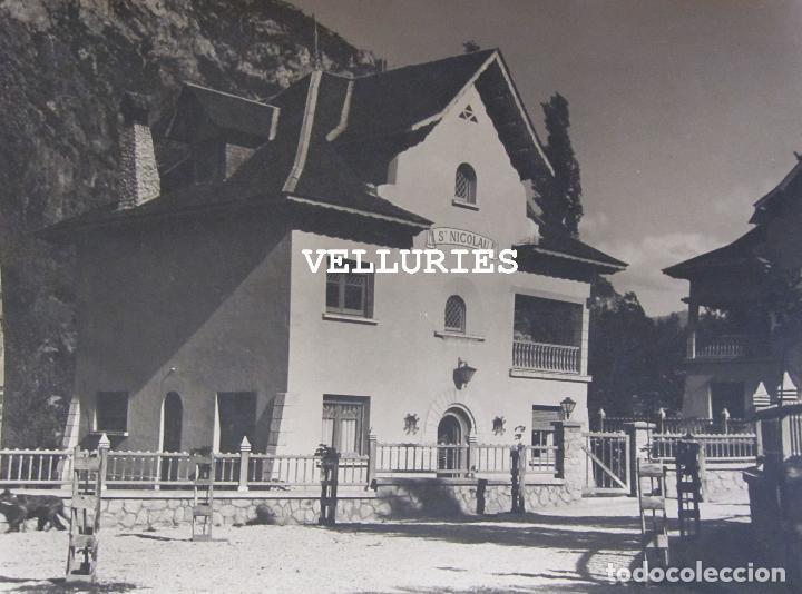 Fotografía antigua: IMPORTANTE REPORTAJE FOTOGRAFICO DE LA COLONIA ENHER. PONT DE SUERT. 13 GRANDES FOTOGRAFIAS - Foto 12 - 252780935