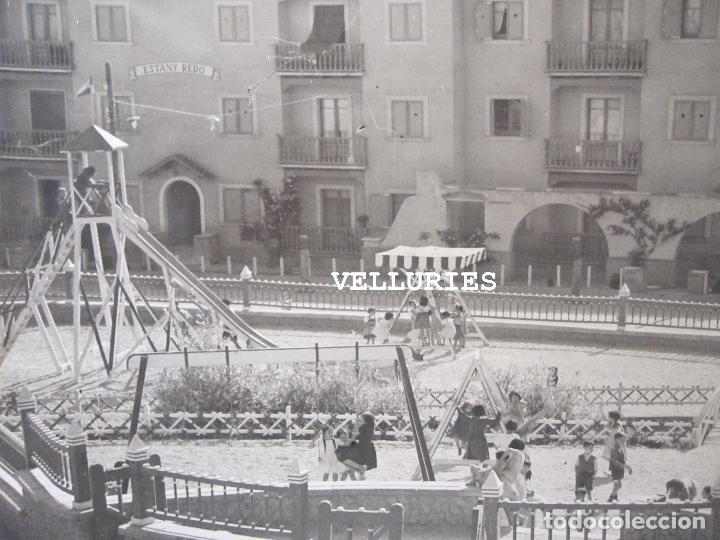 Fotografía antigua: IMPORTANTE REPORTAJE FOTOGRAFICO DE LA COLONIA ENHER. PONT DE SUERT. 13 GRANDES FOTOGRAFIAS - Foto 19 - 252780935