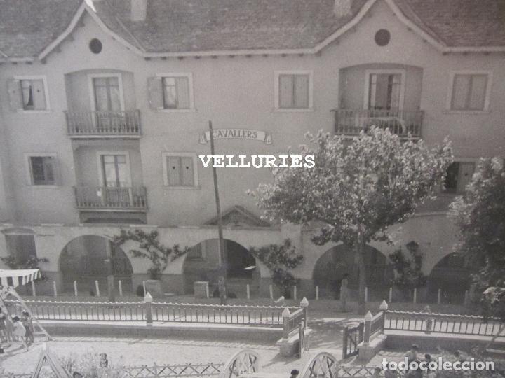 Fotografía antigua: IMPORTANTE REPORTAJE FOTOGRAFICO DE LA COLONIA ENHER. PONT DE SUERT. 13 GRANDES FOTOGRAFIAS - Foto 21 - 252780935