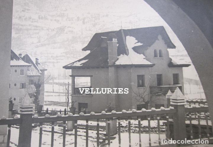 Fotografía antigua: IMPORTANTE REPORTAJE FOTOGRAFICO DE LA COLONIA ENHER. PONT DE SUERT. 13 GRANDES FOTOGRAFIAS - Foto 28 - 252780935