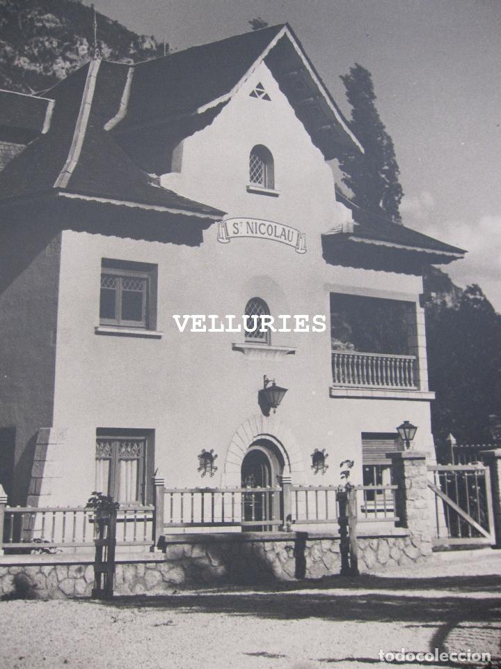 Fotografía antigua: IMPORTANTE REPORTAJE FOTOGRAFICO DE LA COLONIA ENHER. PONT DE SUERT. 13 GRANDES FOTOGRAFIAS - Foto 29 - 252780935