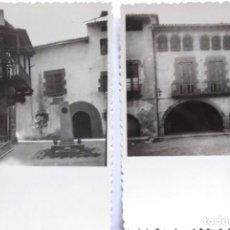 Fotografia antiga: F-5093. TORELLÓ (BARCELONA). ASPECTOS DE LA POBLACIÓN. 2 FOTOS. AÑO 1964.. Lote 253706940