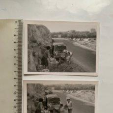 Fotografia antica: FOTO. DIA DE EXCURSION A CULLERA CON EL SEAT 600. (2). FOTÓGRAFO?. 2 AGOSTO 1964.. Lote 253716530