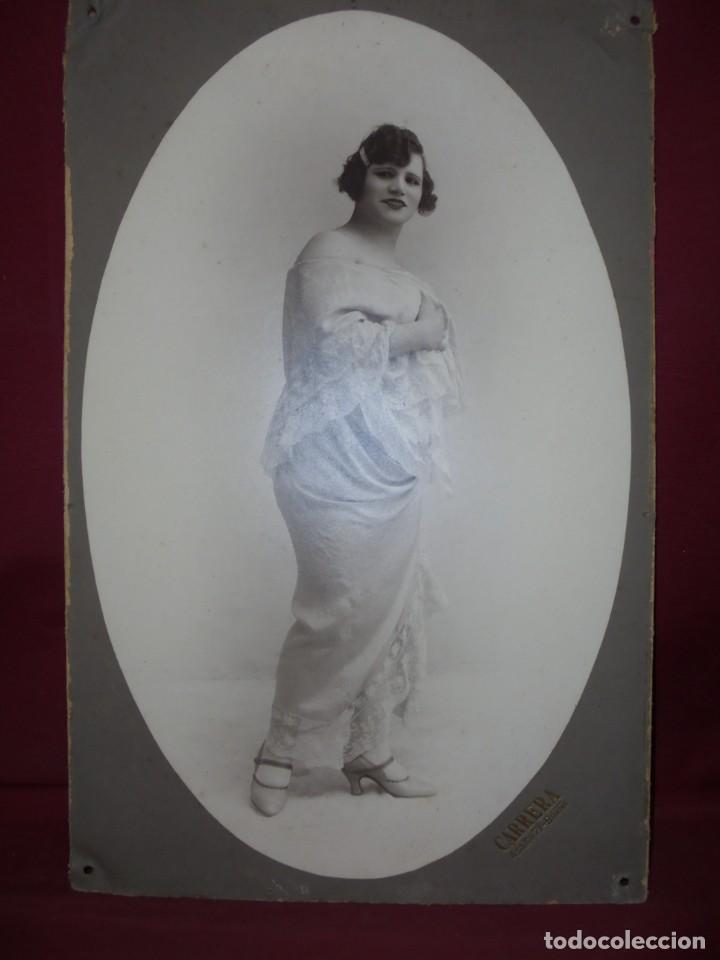 Fotografía antigua: magnifica antigua gran fotografia original de epoca años 20 - Foto 2 - 253979260