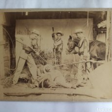 Fotografía antigua: FOTOGRAFÍA ANTIGUA DE MILITARES EN CUBA. FINALES SIGLO XIX.. Lote 254158435
