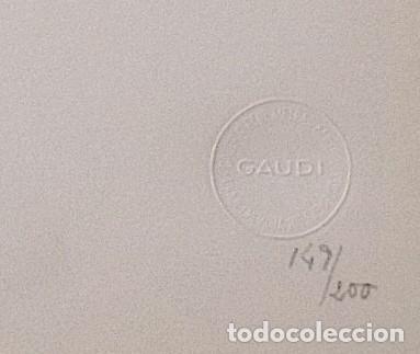 Fotografía antigua: LEOPOLDO POMÉS. FOTOGRAFÍA ARTÍSTICA. LA PEDRERA. GAUDÍ. RENÉ METRAS. NUMERADA 149/200. 1967. - Foto 2 - 254197940