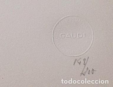 Fotografía antigua: LEOPOLDO POMÉS. FOTOGRAFÍA ARTÍSTICA. LA PEDRERA. GAUDÍ. RENÉ METRAS. NUMERADA 148/200. 1967. - Foto 2 - 254197990