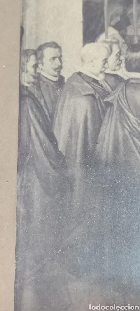 Fotografía antigua: Cuadro con fotografía? de j. Laurent, siglo XIX. Curiosa estampa de un entierro multitudinario. - Foto 8 - 254201310