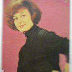 Fotografía antigua: LOLITA SEVILLA CANTANTE AUTOGRAFO - AÑOS 1960 - DOS ORIFICIOS. Lote 254466630