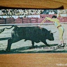 Fotografía antigua: FOTOGRAFIA - TAUROMAQUIA - JUEVES 10. RUIZ MIGUEL - GALAN - CURRILO.. Lote 254694620