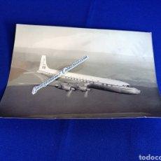 Fotografía antigua: ALITALIA - AVION DOUGLAS DC-7C. Lote 254911205