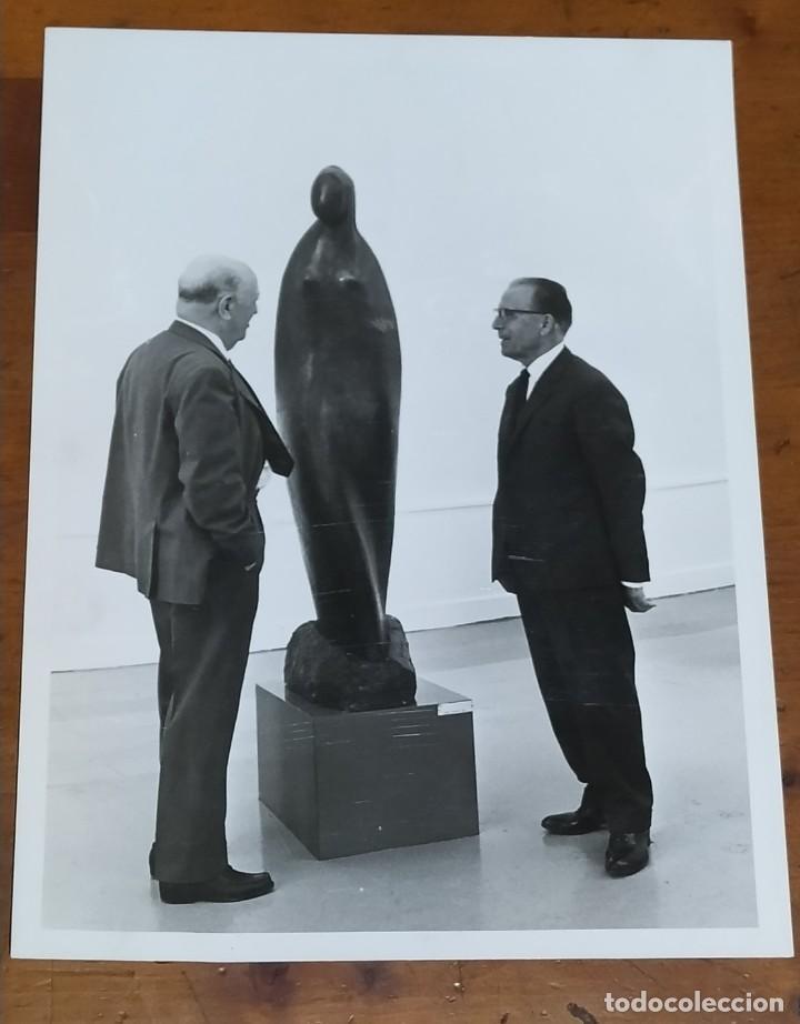 ESCULTOR JOSÉ PLANES 1966.FOTO SANZ BERMEJO. (Fotografía - Artística)