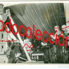 Fotografía antigua: + ZARAGOZA VISITA DEL GENERAL FRANCO ANTIGUA FOTO DE AGENCIA 18 X 12 CM. Lote 255661440