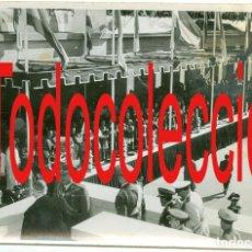 Fotografía antigua: + ZARAGOZA VISITA DEL GENERAL FRANCO ANTIGUA FOTO DE AGENCIA 18 X 12 CM. Lote 255661970