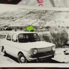 Fotografía antigua: SIMCA PAUSA AÑOS 70 FOTO PARTICULAR 10,7 X 7,5 CM. Lote 257868120
