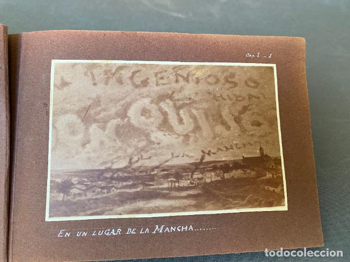 Fotografía antigua: QUIJOTE DEL CENTENARIO 1605 - 1905 . FOTOGRAFIAS ORIGINALES , JIMENEZ ARANDA , CABRERA EDITOR - Foto 2 - 261204385