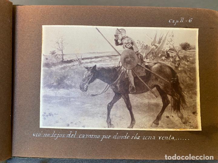 Fotografía antigua: QUIJOTE DEL CENTENARIO 1605 - 1905 . FOTOGRAFIAS ORIGINALES , JIMENEZ ARANDA , CABRERA EDITOR - Foto 6 - 261204385