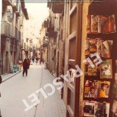 Fotografía antigua: ANTIGÜA FOTOGRAFIA EN COLOR DE CARDONA DE MEDIDAS 12,5 CM. X 9 CM.. Lote 261599615