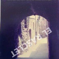 Fotografía antigua: ANTIGÜA FOTOGRAFIA EN COLOR DE CARDONA DE MEDIDAS 12,5 CM. X 9 CM.. Lote 261600395