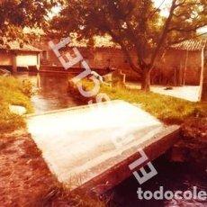 Fotografía antigua: ANTIGÜA FOTOGRAFIA EN COLOR DE CARDONA DE MEDIDAS 15 CM. X 10 CM.. Lote 261602155