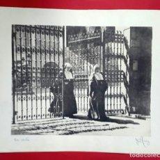Fotografía antigua: FOTOGRAFÍA PICTORIALISTA - GOMA BICROMATADA - GRAN FORMATO - 1940'S. Lote 261683355