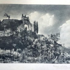 Fotografía antigua: FOTOGRAFÍA PICTORIALISTA - GOMA BICROMATADA - GRAN FORMATO - 1940'S. Lote 261685060