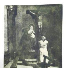 Fotografía antigua: FOTOGRAFÍA PICTORIALISTA - GOMA BICROMATADA - GRAN FORMATO - 1940'S. Lote 261686905