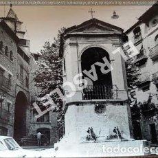 Fotografía antigua: ANTIGÜA FOTOGRAFIA EN BLANCO Y NEGRO DE CARDONA DE MEDIDAS 12,5 CM. X 9 CM.. Lote 261840510