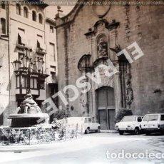Fotografía antigua: ANTIGÜA FOTOGRAFIA EN BLANCO Y NEGRO DE CARDONA DE MEDIDAS 12,5 CM. X 9 CM.. Lote 261841505