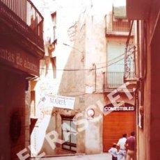 Fotografía antigua: ANTIGÜA FOTOGRAFIA EN COLOR DE CARDONA DE MEDIDAS 15 CM. X 10 CM.. Lote 261844765