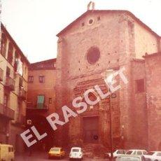 Fotografía antigua: ANTIGÜA FOTOGRAFIA EN COLOR DE CARDONA DE MEDIDAS 15 CM. X 10 CM.. Lote 261845020