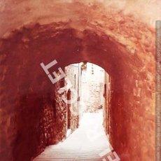 Fotografía antigua: ANTIGÜA FOTOGRAFIA EN COLOR DE CARDONA DE MEDIDAS 15 CM. X 10 CM.. Lote 261845105