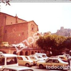 Fotografía antigua: ANTIGÜA FOTOGRAFIA EN COLOR DE CARDONA DE MEDIDAS 15 CM. X 10 CM.. Lote 261845575