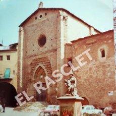 Fotografía antigua: ANTIGÜA FOTOGRAFIA EN COLOR DE CARDONA DE MEDIDAS 15 CM. X 10 CM.. Lote 261845870