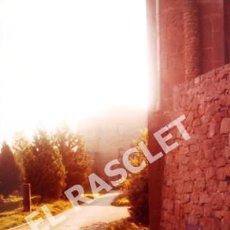 Fotografía antigua: ANTIGÜA FOTOGRAFIA EN COLOR DE CARDONA DE MEDIDAS 15 CM. X 10 CM.. Lote 261846345