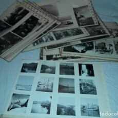 Fotografía antigua: MAGNIFICO GRAN LOTE DE MAS DE 100 ANTIGUAS FOTOGRAFÍAS BLANCO NEGRO ES UN LOTE BASTANTE VARIADO. Lote 262483800