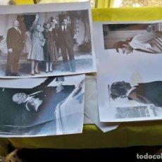 Fotografía antigua: 4 FOTOGRAFÍAS DE LA AGENCIA EFE S.A. DE PORTUGAL, DE LA FAMILIA REAL DE BORBÓN. Lote 262741305