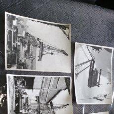 Fotografía antigua: LOTE 5 FOTOGRAFÍA ASTILLEROS ESPAÑOLES FACTORIA OLAVEAGA BILBAO VER FOTOS ESTADO NECESITA LIMPIEZA. Lote 267462529
