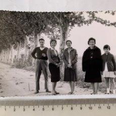 Fotografia antiga: FOTO. EXCURSIÓN ROMANI. SOLLANA. VALENCIA. FOTÓGRAFO?. FECHA, 10 NOVIEMBRE 1963.. Lote 268866224
