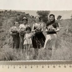 Fotografía antigua: FOTO. EXCURSIÓN A MONTE PICAYO. PUZOL. VALENCIA. FOTÓGRAFO?. FECHA, 17 MAYO 1964.. Lote 269128528