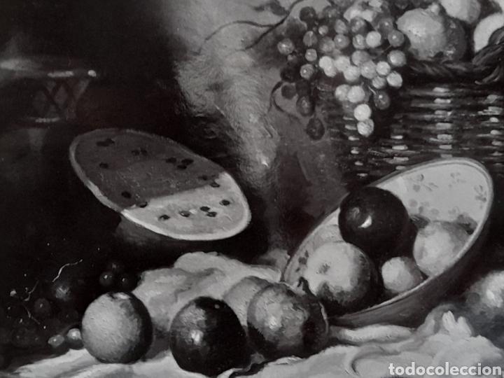 Fotografía antigua: Fotografía antigua del cuadro bodegón Natura Muerta - Foto 2 - 269132948
