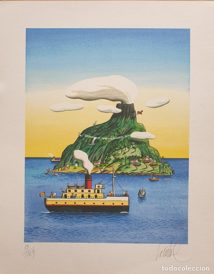 LOUSTAL 88/ 169 SERIGRAFIA FIRMADA Y NUMERADA. MAMAGRAF SERIGRAFIA (Fotografía - Artística)