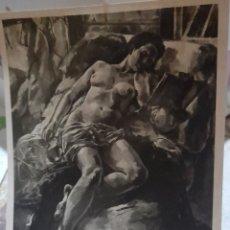 Fotografía antigua: FOTOGRAFÍA ANTIGUA DE UN DESNUDO FEMENINO DEL PINTOR ALFREDO FIGUERAS SANMARTÍN. Lote 269179103