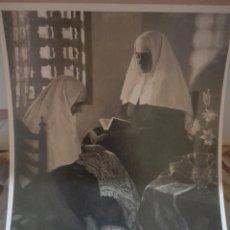 Fotografía antigua: FOTOGRAFÍA ANTIGUA DEL CUADRO REMANSO DEL PINTOR ALFONSO GROSSO. Lote 269179473