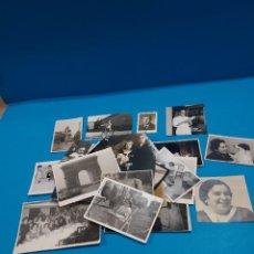 Fotografía antigua: LOTE DE 30 ANTIGUAS FOTOGRAFIAS..... Lote 269373433
